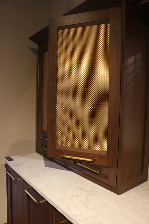 Decorative Metal Mesh For Cabinet Doors  from www.thecabinetry.net