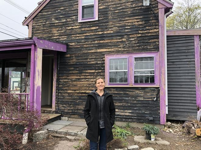 Purple no longer: Norwell's 'Purple House' turns from gallery to showroom